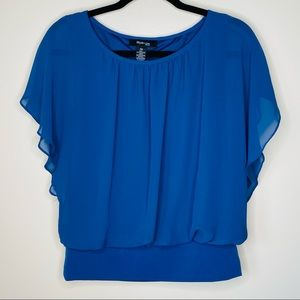 Style & Co Butterfly Sleeve Blouse M